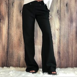 Ann Taylor Loft | Wool Black Pants | Size 0